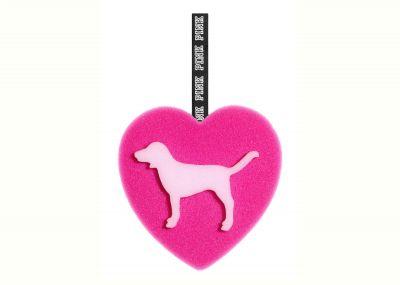 Špongia Victorias Secret Pink (Heart Dog)