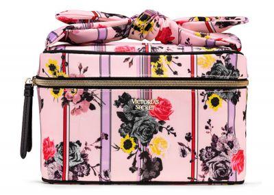 Kozmetický kufrík + taštička Victorias Secret (Pink Floral)