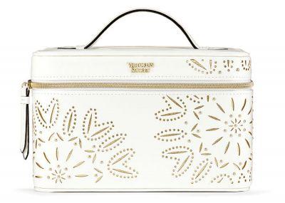 Kozmetický kufrík Victorias Secret (White Laser Cut)
