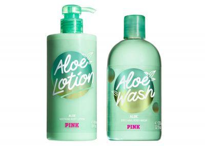Sada starostlivosť o telo Victorias Secret Pink (Aloe)