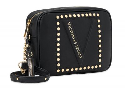 Crossbody kabelka Victorias Secret (Black Stud)
