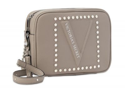 Crossbody kabelka Victorias Secret (Grey Stud)