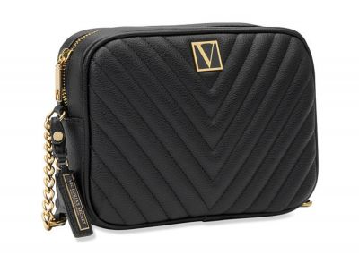 Crossbody kabelka Victorias Secret (Pure Black)