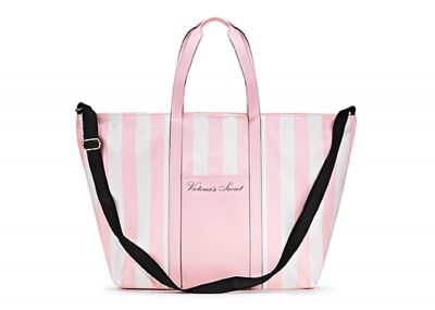 Kabelka Victorias Secret Weekender (Victoria Stripe)