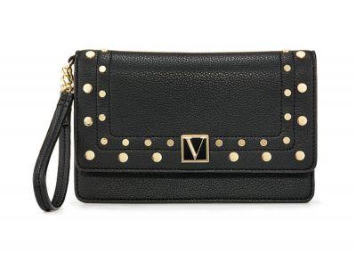 Peňaženka Victorias Secret Wristlet (Black Stud)