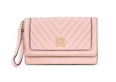 Peňaženka Victorias Secret Wristlet (Orchid Blush)