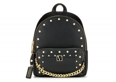 Victoria's Secret batôžtek Mini Backpack (Black Stud)