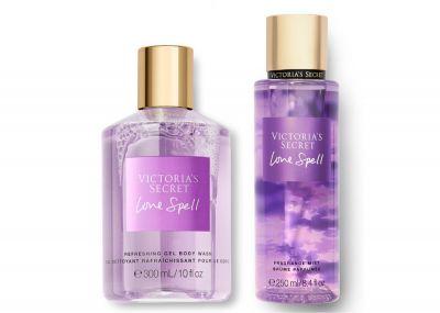 Victorias Secret Fragrance Mist + Sprchový gél (Love Spell)