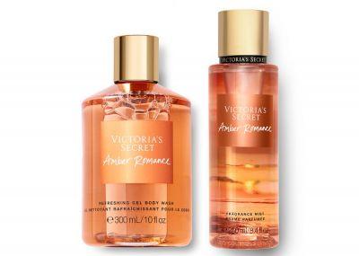 Victorias Secret Fragrance Mist + Sprchový gél (Amber Romance)