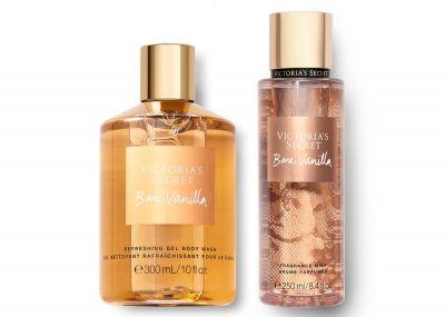 Victorias Secret Fragrance Mist + Sprchový gél (Bare Vanilla)